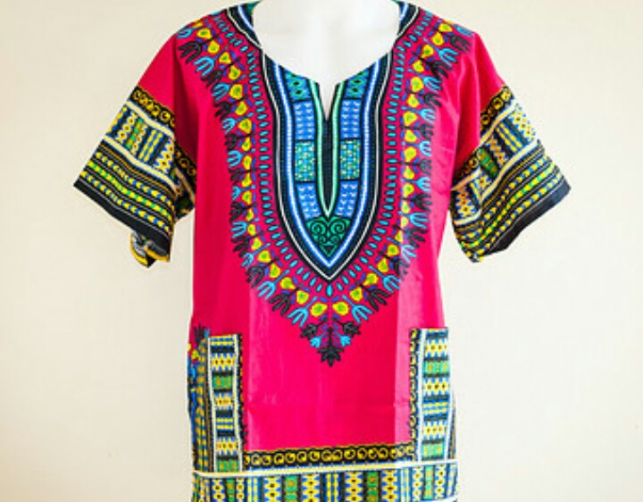 Dashiki la tendance africaine la mode book2look - Haut a la mode ...